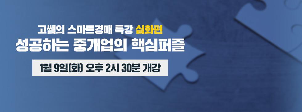 고쌤의 스마트경매 특강[심화편]