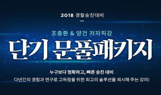 2018<br />단기 문풀 패키지